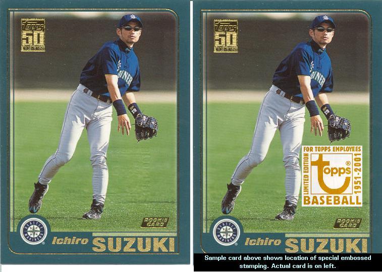 Collecting Topps Ichiro 2001